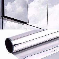 Spiegelfolie Spionfolie Sichtschutzfolie 2m x 1,22m Fensterfolie UV Schutzfolie