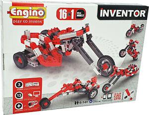 Engino® INVENTOR »16 in 1« Bikes Models Konstruktionsbausatz Baukasten Bausatz