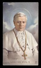 """santino-holy card""""""""ediz. FB*** n.1531 S.PIO X PAPA"""