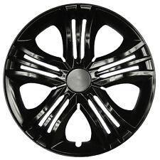 "4 x Radkappen FUN 16"" Zoll Black Radzierblenden VW,AUDI,BMW,MERCEDES,SEAT,OPEL"