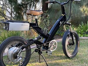 A2B Ultramotor Velociti Electric Bike- Excellent Condition w/Back-up Battery