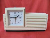 Rare vintage Soviet mechanical alarm clock NAIRI НАИРИ USSR 1960's melody alarm