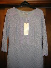 Ladies Size 10 Marks & Spencer Per Una Violet lace effect Dress  RRP £55