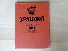 Vintage 1999 Orlando Magic Leather NBA Spalding Notebook Folder
