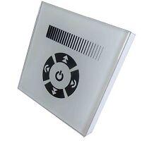 230V Touch Wand Unterputzdose rund Einbau Dimmer Schalter für dimmbare LED weiss