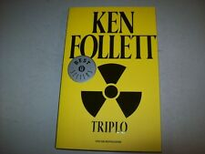 KEN FOLLETT-TRIPLO-OSCAR MONDADORI-2008-BESTSELLERS-N. 23-PARI AL NUOVO!