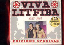 LITFIBA-VIVA LITFIBA EDIZIONE SPECIALE BOX 4 CD NUOVO SIGILLATO