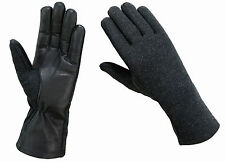 NOMEX FLIGHT PILOT FIRE RESISTANT TACTICAL LEATHER GLOVES-XS,S,M,L,XL,XXL