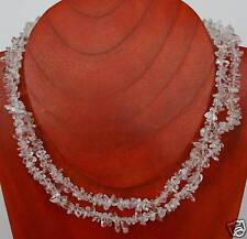 Begkristall  Splitterkette  90 cm  endlos