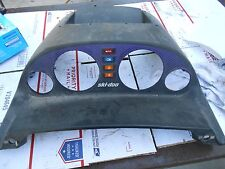 1997 Skidoo Formula III: PLASTIC DASH w all warning lights