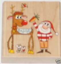 "PENNY BLACK ""CHRISTMAS FRIENDS""  RUBBER STAMP"