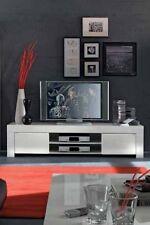 Mobile base porta tv moderno Amalfi grande 190 sala soggiorno bianco laccato