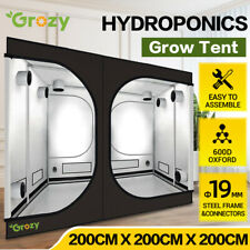 2x2x2M HYDROPONICS REFLECTIVE INDOOR GROW TENT FOR GROW SYSTEM LED LIGHTING KIT
