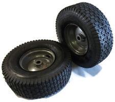13x5.00-6 Turf Tread Tube Type Gray Wheel Metal Bushings Set of 2 1-4141