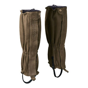 Deerhunter Marseilles Leather Gaiters Hunting Shooting Walking FREE SOCKS !