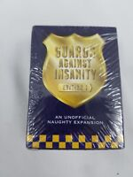 Guards Against Insanity Unofficial Naughty Expansion Edition 1 Card Game Adult
