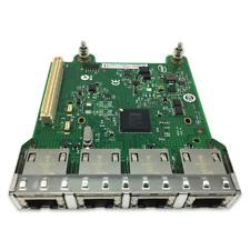 Intel Mezzanine Module I350-T4 Dell R620 Quad Ports Add On Ethernet NIC Card