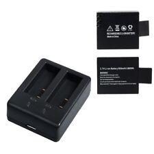 Campark 1050mAh Bateria Recargable USB Adaptador Cargador de Bateria para Camara