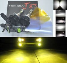 LED Kit X3 50W 9040 3000K Yellow Two Bulbs Fog Light Replacement Upgrade Lamp OE