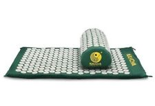 Nayoya Back and Neck Pain Relief Acupressure Mat and Pillow Set Relieve Stress