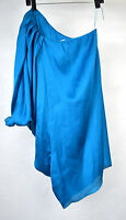 Cache Dress Blue One Shoulder 0 Womens