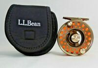 L.L. Bean Fly Reel Double L #2 Fly Reel Bronze Color GT#44