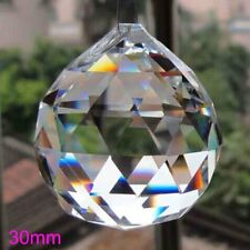 30mm Crystal Lighting Ball Prisms Hanging Pendant Wedding Lamp Chandelier Decor