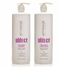 Affinage White Ice Treatment Shampoo & Conditioner 1000ml Cruelty Free - UV