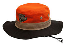 Harley-Davidson Men's Colorblocked Embroidered Boonie Cotton Twill Hat HD-476