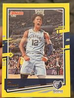 2020-21 Donruss Ja Morant Yellow Flood Parallel #107 2nd Year NM/MINT Basketball