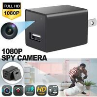 1080P HD Hidden Camera USB Wall Charger Adapter Video Recorder Security Camera