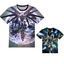 Anime Gundam Seed Freedom Unisex T-shirt Short Sleeve Tee Cosplay S-3XL#SX-328