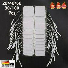 20-100 x TENS Elektroden Pads 4 x 4cm Selbstklebend für TENS EMS Reizstrom Gerät