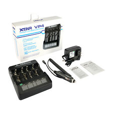 New XTAR VP4 LED battery charger 18650 / 14500 / 16340 / 18350 / 18500 / 26650