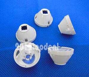 10pcs 15 Degree 21mm Reflector Collimator LED Lens For Cree T6 U2 XML XM-L LED