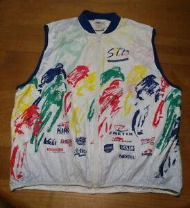 Tyvek Cycling Vest Seattle Portland 2011 Race Ride jersey Leslie Jordan XL