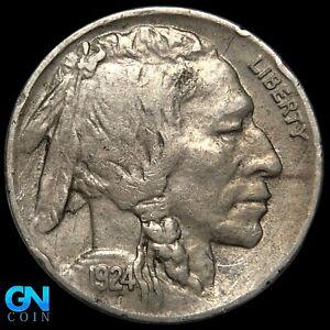 1924 D Buffalo Nickel  --  MAKE US AN OFFER!  #K7789