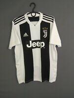 Juventus Jersey 2018 2019 Home MEDIUM Shirt Mens Maglia Adidas CF3489 ig93