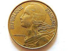 1963 French Twenty (20) Centimes Coin