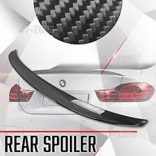 For 14-17 BMW 4 Series F32 Gloss Carbon Fiber M Performance Rear Wing Spoiler