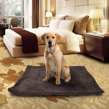 Soft Cozy Fleece Pet Blanket Waterproof Bed Mat Kennel for Home Dog Cat Puppy Us