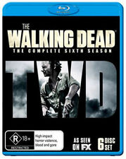 The Walking Dead Series Complete Sixth Season 6 Blu Ray Set