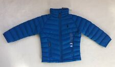 Ralph Lauren Boys 2T Blue Down Coat New With $90 Price Tag