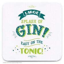 Posavasos Bebidas Mat Gracioso Humor Novedad Gin amante Barato Presente Regalo De Cumpleaños