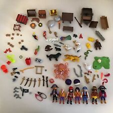 Playmobil Pirate Lot Figures Accessories Animals Birds