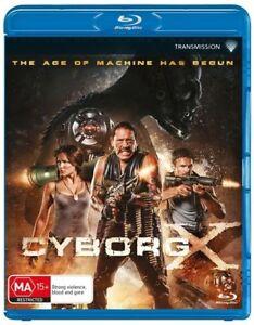 Cyborg X (Blu-ray, 2016) NEW SEALED