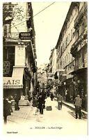 CPA 83 Var Toulon Rue d'Alger animé