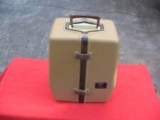 """""""OLD PAL"""" TACKLE BOX-VERY RARE-VERTICAL SATCHEL-WOODSTREAM CORP-GREAT COLOR"""