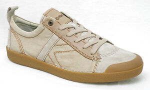 KICKERS TRIBAL baskets homme cuir et toile beige 471080 60 11 taille 41