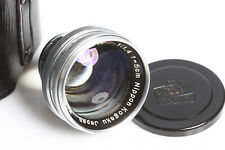 Nikon  Nippon 1.4-50mm für contax-Nikon